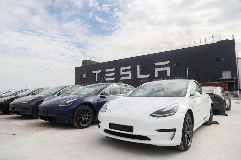 Tesla Model 3 (Ảnh từ Internet)