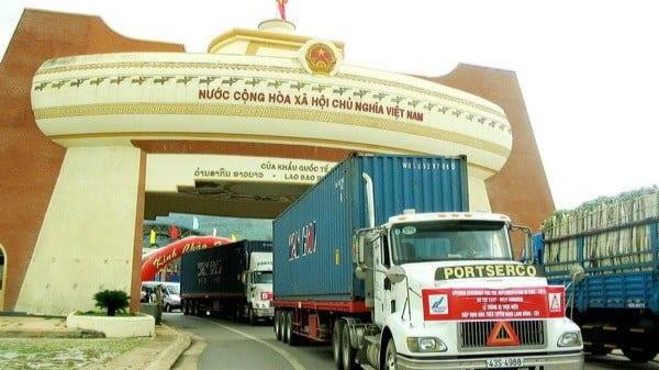 Cửa khẩu quốc tế Lao Bảo.