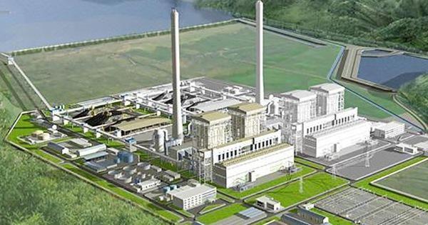 Phối cảnh dự án nhiệt điện Quảng Trạch I. Nguồn: EVN