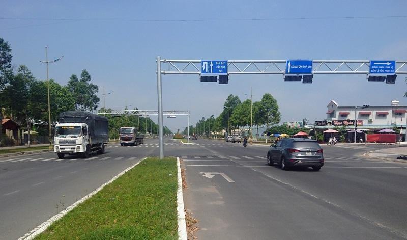 Khu đất bên đường Võ Văn Kiệt, quận Bình Thủy được Công ty CP Tập đoàn SOVICO nghiên cứu đầu tư Khu Logistics và công nghiệp hàng không Cần Thơ