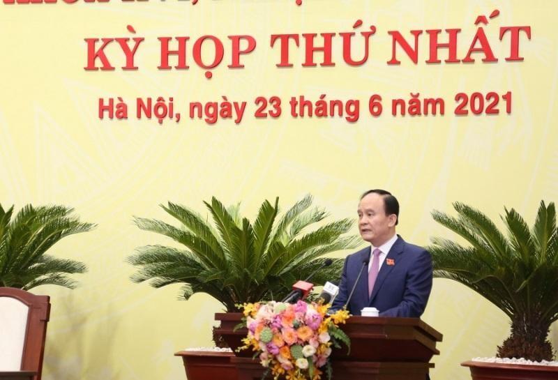 Ông Nguyễn Ngọc Tuấn, Phó Bí thư Thành ủy, Chủ tịch HĐND Thành phố Hà Nội khóa XVI, nhiệm kỳ 2021-2026.