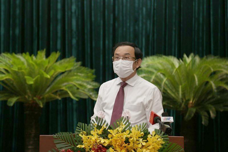 Bí thư Thành ủy TP.HCM Nguyễn Văn Nên yêu cầu cần vận dụng các chính sách tốt nhất có thể để bồi thường, hỗ trợ, tái định cư người dân bị ảnh hưởng bởi dự án Khu đô thị mới Thủ Thiêm