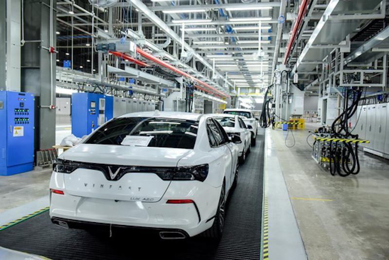 Sản xuất ô tô được lựa chọn kỳ xét ưu đãi thuế khi đạt sản lượng quy định