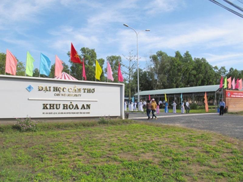 Khu Hòa An - Trường Đại học Cần Thơ, nơi UBND tỉnh Hậu Giang đề nghị trưng dụng làm khu cách ly tập trung phòng, chống dịch bệnh COVID-19 (Nguồn: Đại học Cần Thơ)