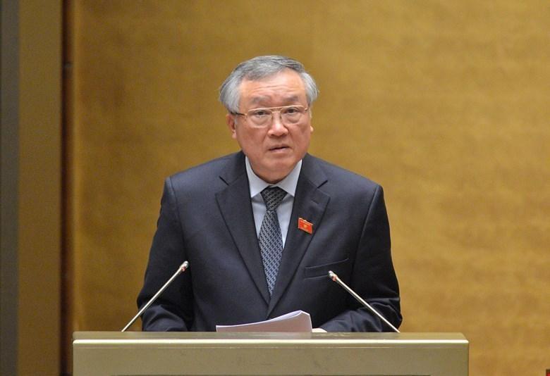 Chánh án Toà án nhân dân Tối cao Nguyễn Hoà Bình được giới thiệu tái cử.