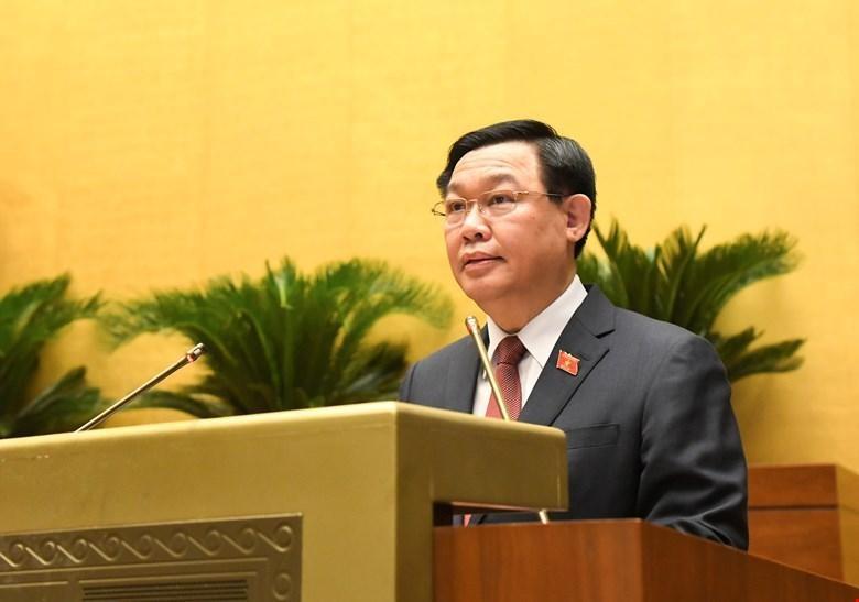 Chủ tịch Quốc hội Vương Đình Huệ phát biểu nhân Ngày Thương binh - Liệt sỹ.