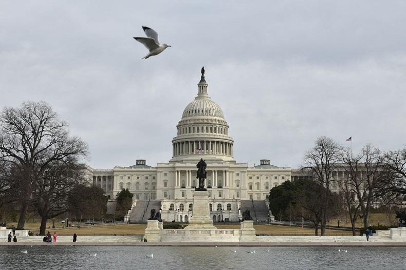 Tòa nhà Quốc hội Mỹ. Ảnh tư liệu: AFP