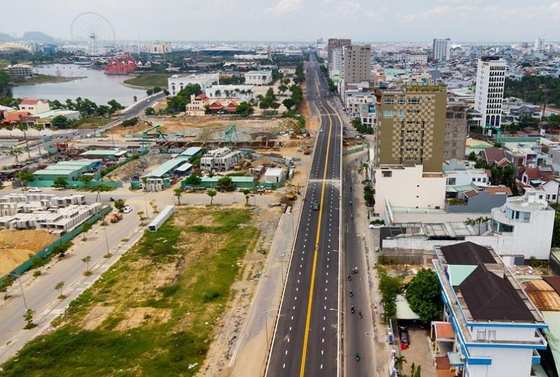 Nút giao thông cầu Trần Thị Lý là công trình trọng điểm của TP.Đà Nẵng.