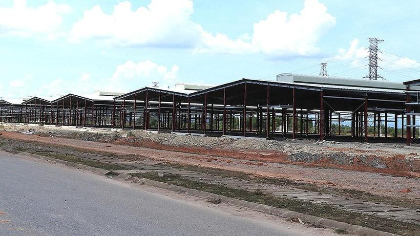 Dự án Khu nhà xưởng và văn phòng Trung Khởi - Quán Ngang. Ảnh: Tuyền Trần