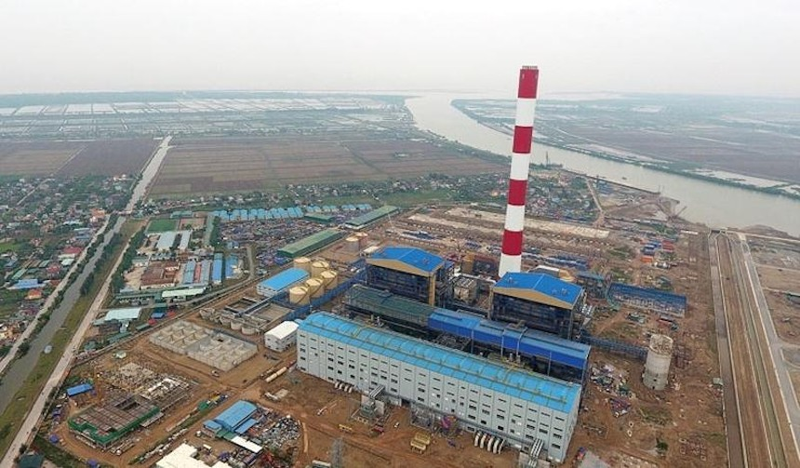 Dự án nhiệt điện Thái Bình 2 đang đặt mục tiêu phát điện tổ máy 1 vào 30/4/2022