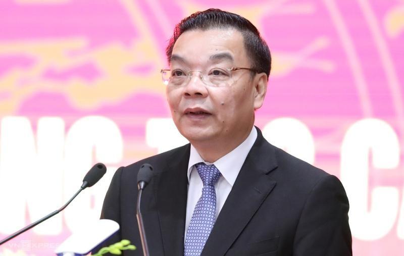 Chủ tịch UBND Thành phố Hà Nội Chu Ngọc Anh.