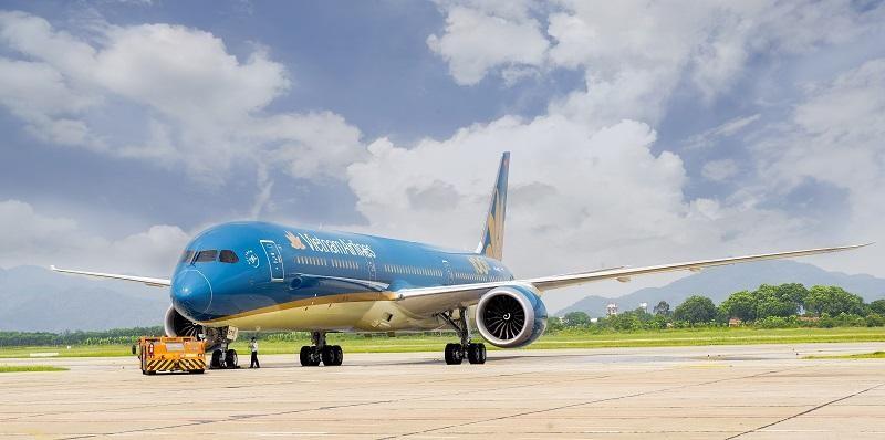 Tàu bay Boeing 787 Dreamliner sẽ được Vietnam Airlines đưa vào khai thác trên đường bay thẳng Việt Nam - Hoa Kỳ.