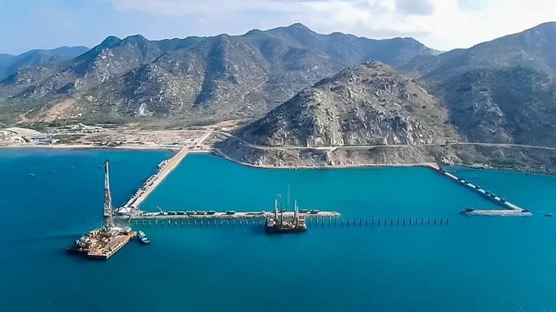 Cảng tổng hợp Cà Ná sẽ tham gia phục vụ phát triển năng lượng