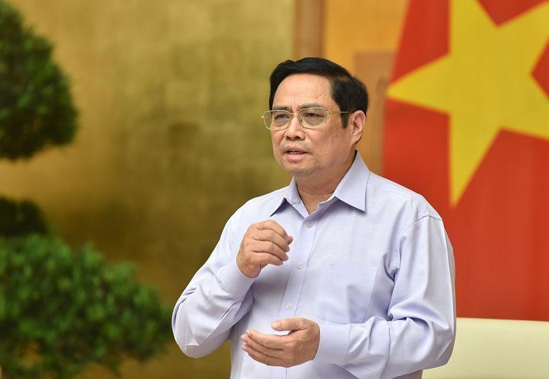Thủ tướng Phạm Minh Chính yêu cầu, đầu tư công phải dẫn dắt và kích hoạt đầu tư của mọi thành phần kinh tế, huy động mọi nguồn lực trong xã hội cho đầu tư phát triển. (Ảnh: Nhật Bắc)