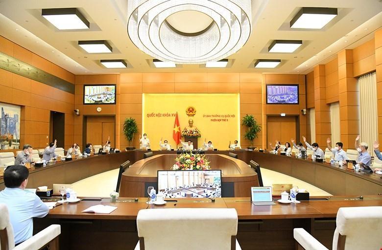 Dự thảo nghị quyết đã được Uỷ ban Thường vụ Quốc hội thông qua trong phiên họp ttháng 9/2021.