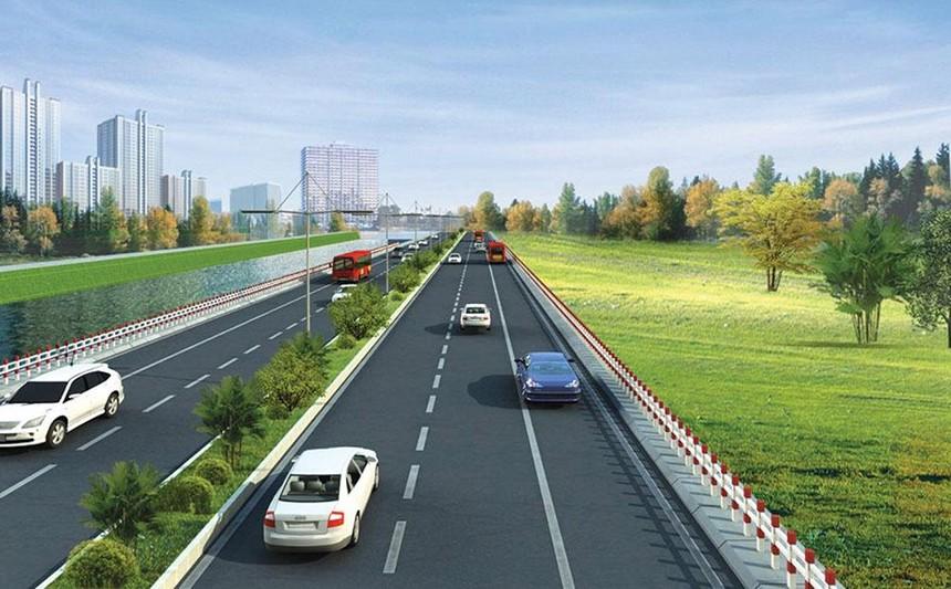 Phối cảnh đường vành đai 4 - vùng Thủ đô.