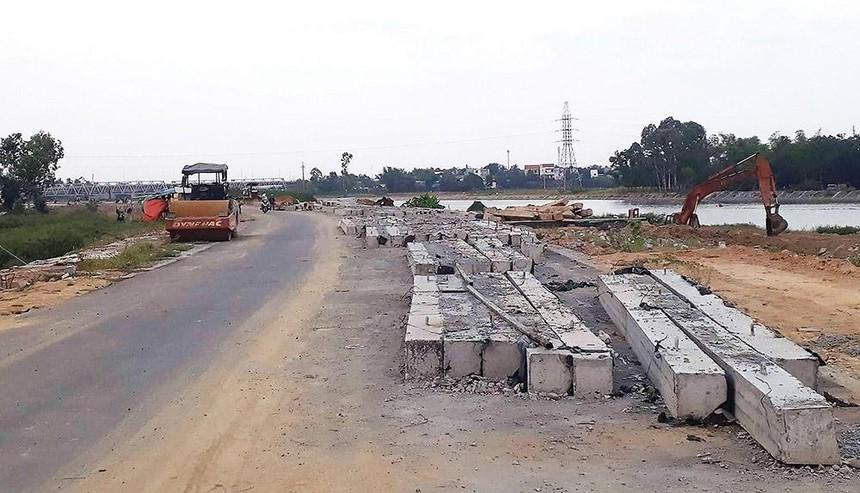 Nhiều dự án giao thông tại Đà Nẵng vẫn thi công dang dở dù đã quá mốc thời gian hoàn thành