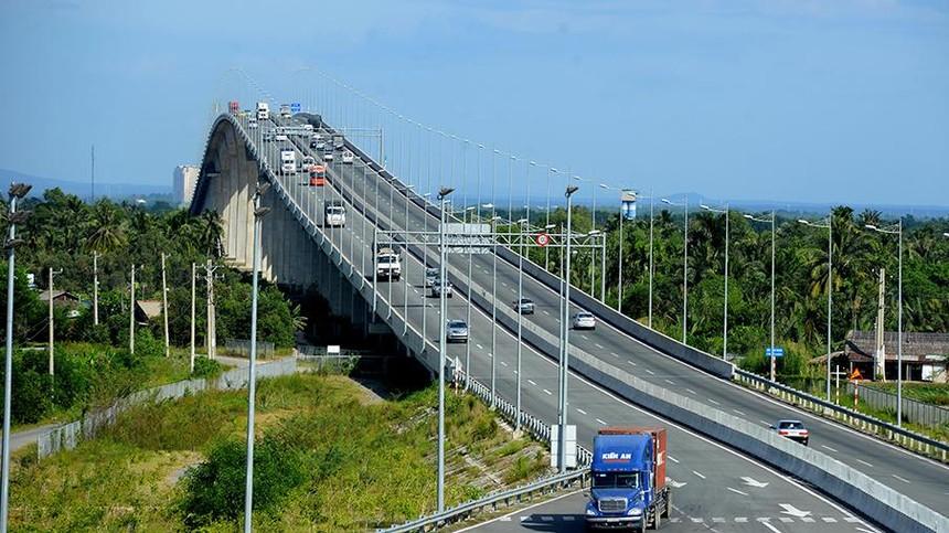 Cầu Long Thành - Công trình huyết mạch trên cao tốc Dầu Giây