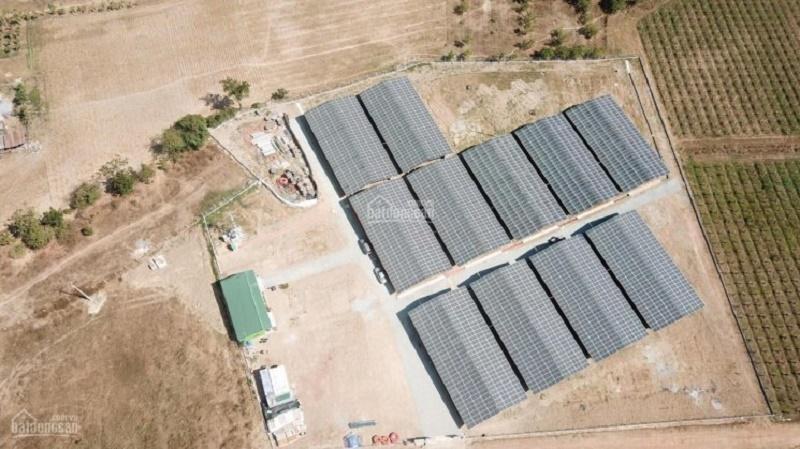 Một trang trại nông nghiệp công nghệ cao 4.0 tích hợp năng lượng mặt trời 2 MW, mặt tiền Quốc lộ 27B (Ninh Thuận) được rao bán công khai