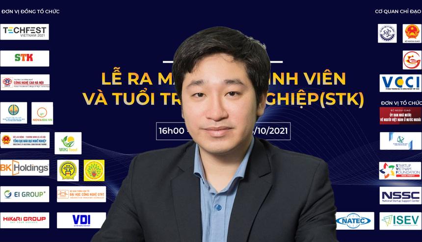 Ông Đỗ Mạnh Hùng, Chủ tịch HĐQT NovaEdu, Trưởng Làng STK
