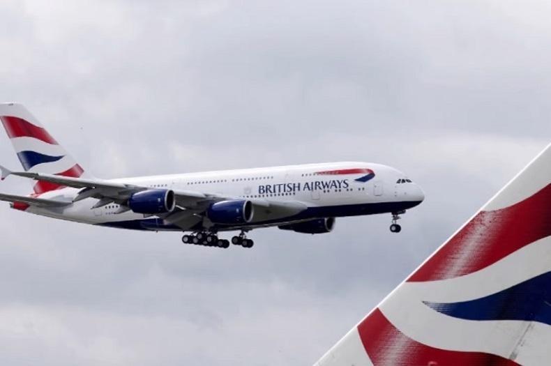 Tập đoàn hàng không IAG - công ty mẹ của British Airways - báo lỗ trước thuế 2,7 tỷ USD trong nửa đầu năm 2021. Ảnh: AFP