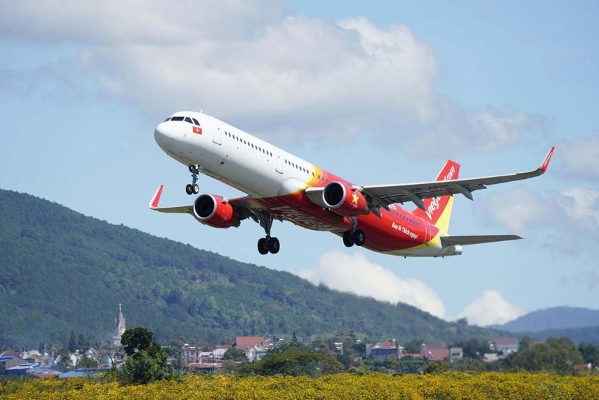 Vietjet mở bán vé 15 đường bay từ 10/10 trên tất cả các kênh, chính thức trở lại bầu trời
