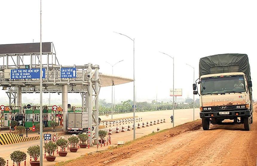Trạm thu phí Dự án BOT đường Hồ Chí Minh, đoạn từ Quốc lộ 2 đến Hương Nộn.