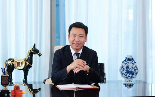 Ông Lê Vĩnh Sơn, Chủ tịch Tập đoàn Sơn Hà.