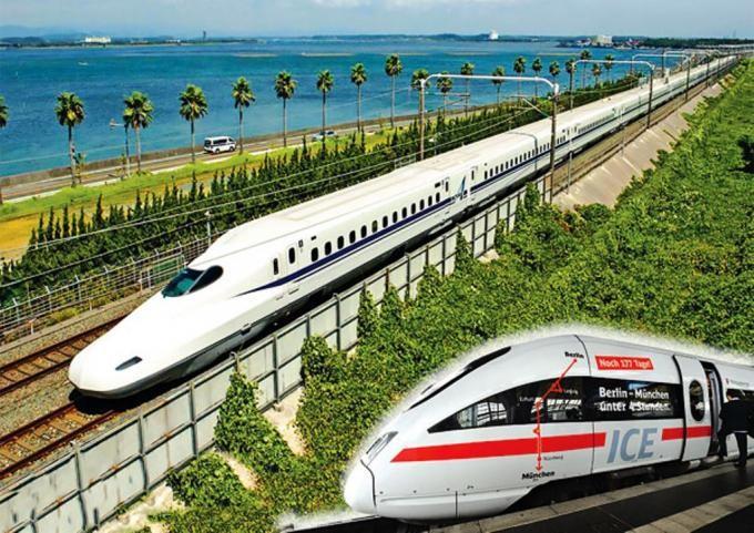 Sẽ có 2 phân đoạn thuộc tuyến đường sắt tốc độ cao trên trục Bắc - Nam được đầu tư trong 10 năm tới.
