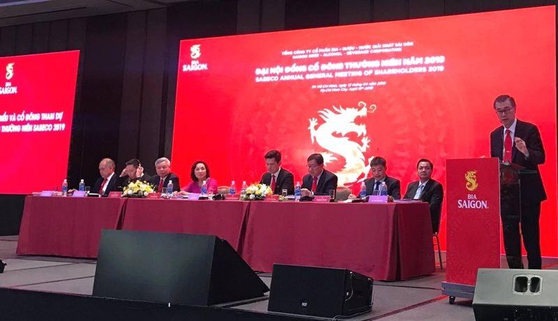 ĐHCĐ Sabeco: Chủ tịch HĐQT Sabeco bác thông tin Sabeco đã được bán cho Trung Quốc