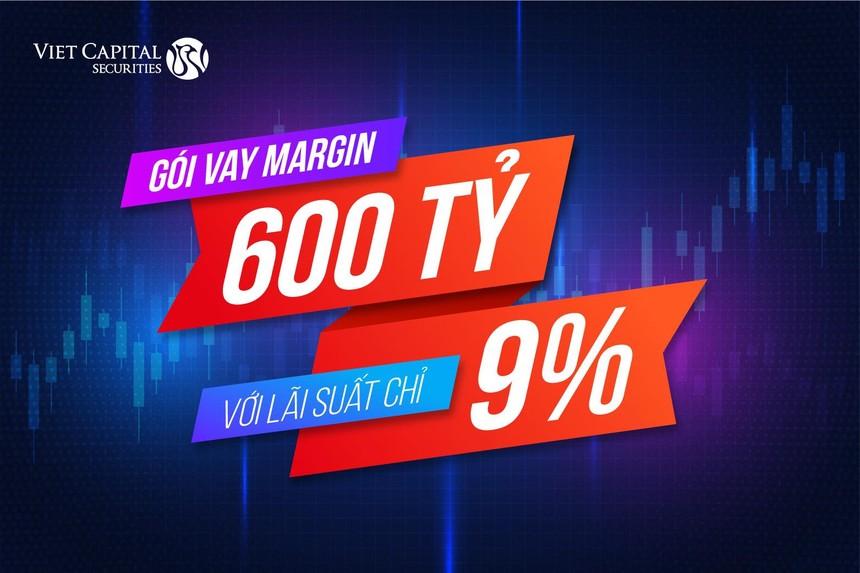 Chứng khoán Bản Việt (VCI) tung gói margin mới với lãi suất chỉ 9%