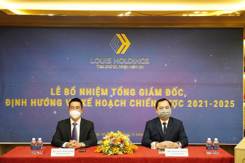 Louis Holding bổ nhiệm Tổng giám đốc, khẳng định không làm giá cổ phiếu