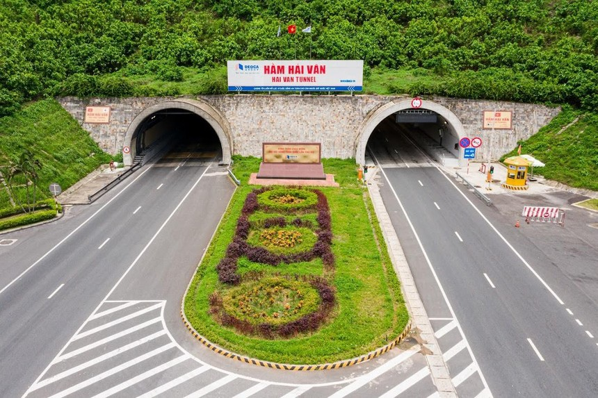 Hầm Hải Vân do HHV đầu tư và quản lý vận hành