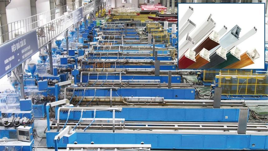 DAG có nhà máy sản xuất thanh Profile uPVC lớn nhất Đông Nam Á