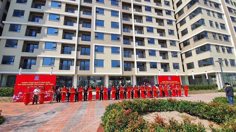 VGC khánh thành khu nhà ở công nhân