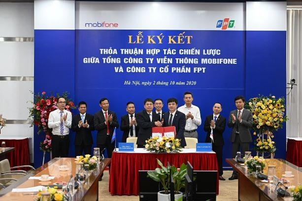 FPT và MobiFone liên minh chuyển đổi số