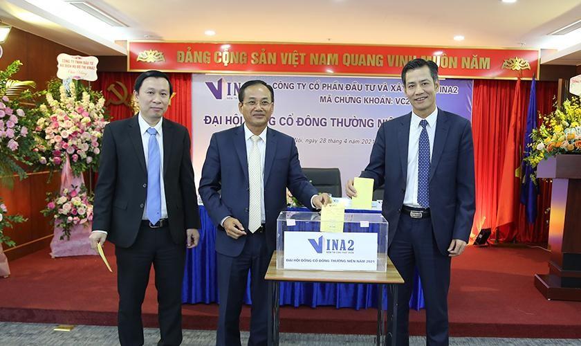Đại hội đồng cổ đông VINA 2 (VC2): Tăng vốn gấp đôi, thúc đẩy đầu tư