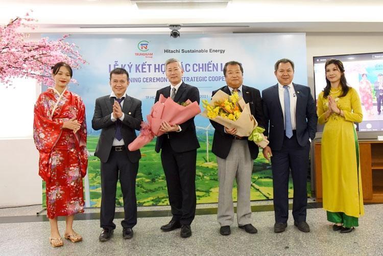 Hitachi SE mua 35,1% cổ phần Điện gió Trung Nam
