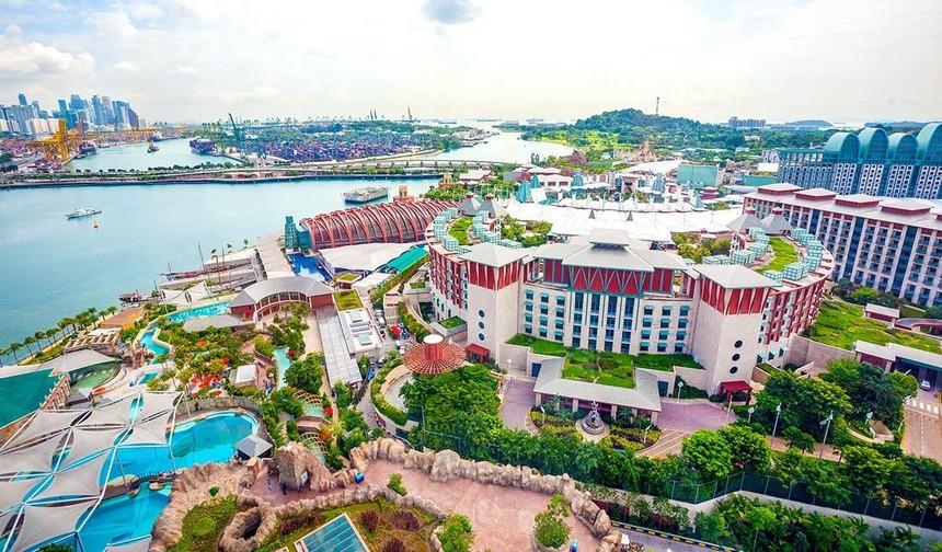 """Mô hình nghỉ dưỡng """"All in One"""" thành công tại đảo Sentosa - Singapore"""