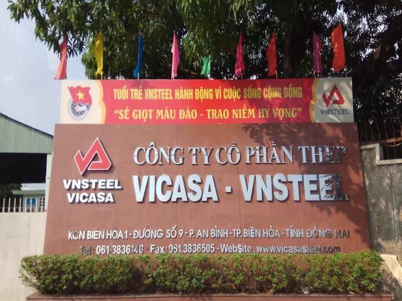 Thép Vicasa (VCA) trả cổ tức năm 2020 bằng tiền, tỷ lệ 10%