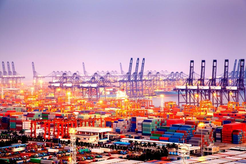 Cổ phiếu vận tải biển tạo sóng theo giá cước vận tải
