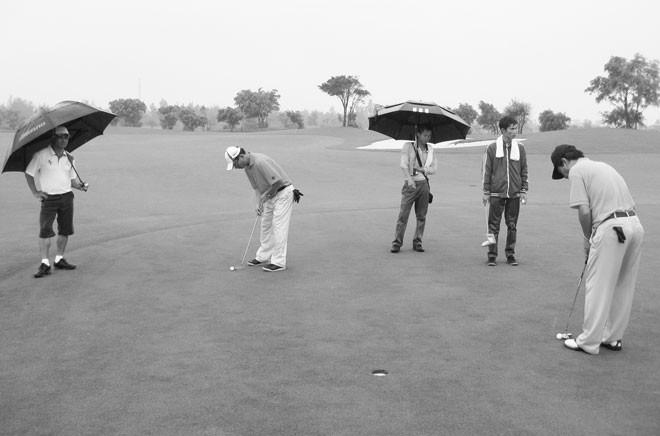Hạng mục sân golf của Dự án Tổ hợp sân golf, khách sạn và biệt thự tại thị xã Cửa Lò đi vào hoạt động từ tháng 5/2010