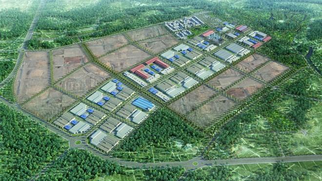 Mô hình Khu Công nghiệp FLC Hoàng Long
