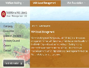 VietNam Holding huy động thêm 15,5 triệu USD